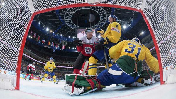 Чемпионат мира по хоккею. Прага. Сборные Австрии и Швеции