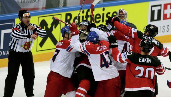 Хоккей. Чемпионат мира 2015. Матч Канада - Чехия