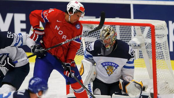 Хоккей. Чемпионат мира-2015. Матч Финляндия - Норвегия