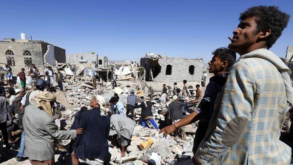 Ситуация в столице Йемена Сане. Архивное фото