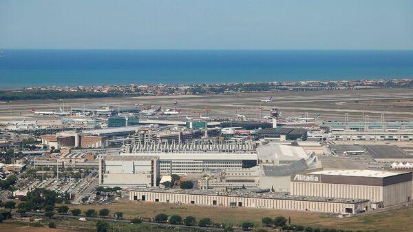Вид на международный аэропорт в Риме. Архивное фото