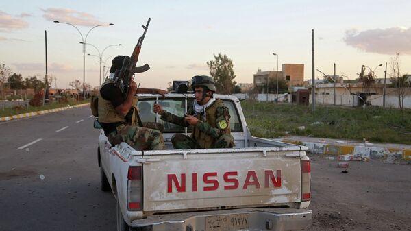 Патрулирование улиц в Ираке. Архивное фото