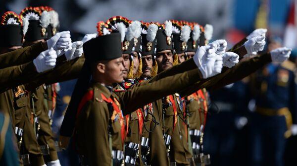 Военнослужащие гренадерского полка Вооруженных сил Индии