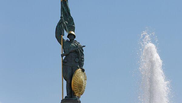 Памятник советским воинам, погибшим при освобождении Австрии от фашизма. Архивное фото