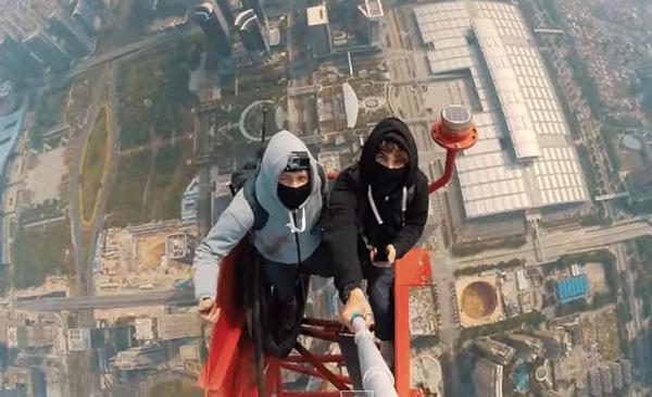 Руфинг по-русски, или 660 метров под ногами