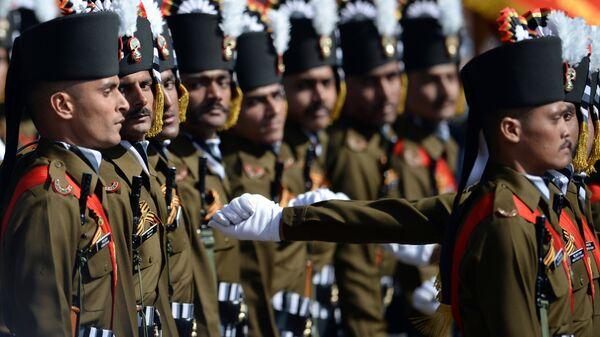Индийские военнослужащие