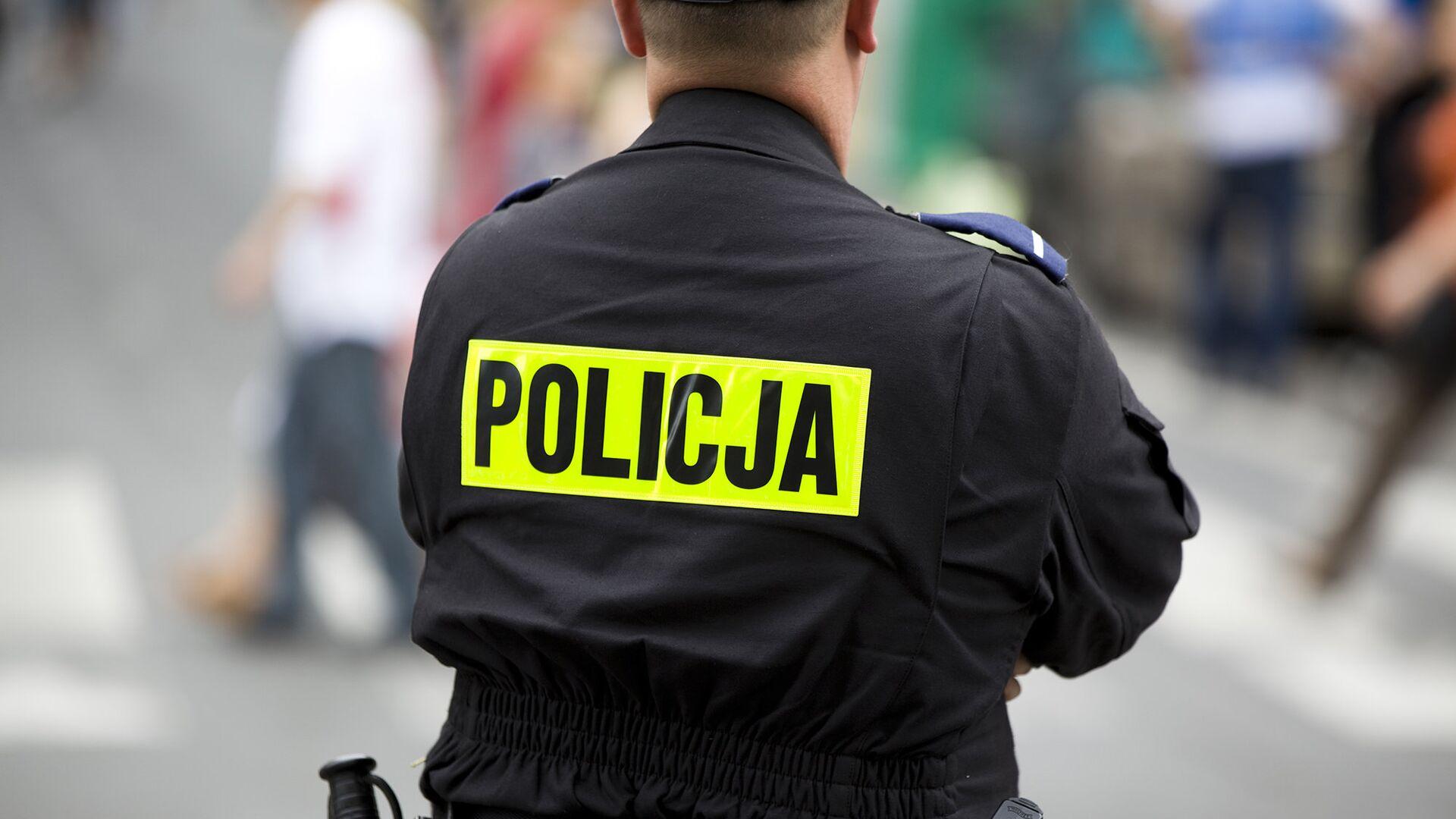 Польская полиция - РИА Новости, 1920, 02.08.2021