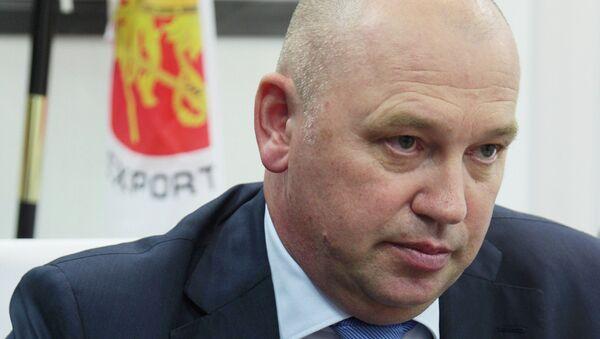 Глава делегации Рособоронэкспорта на выставке SITDEF-2015 Сергей Ладыгин