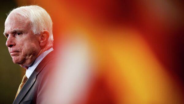 Сенатор США Джон Маккейн. 2015 год. Архивное Фото.