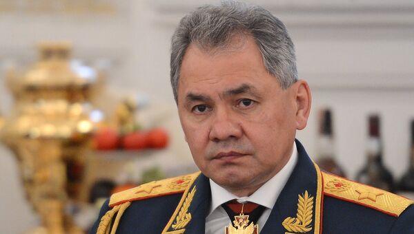 Министр обороны РФ, генерал армии Сергей Шойгу. Архивное фото