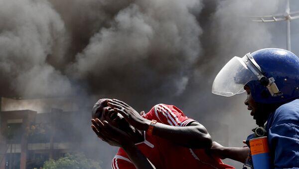 Задержание протестующих в Бужумбуре, Бурунди