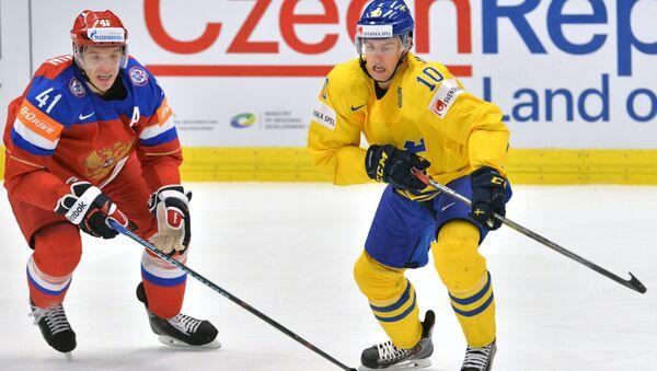 Юаким Линдстрём (справа), архивное фото
