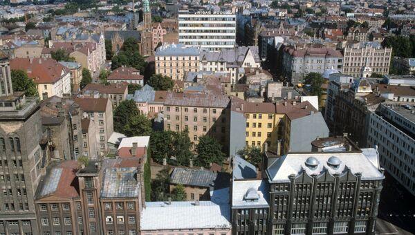 Панорама Риги, архивное фото