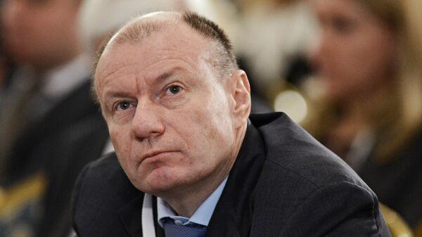 Генеральный директор - председатель правления ГМК Норильский никель Владимир Потанин, архивное фото
