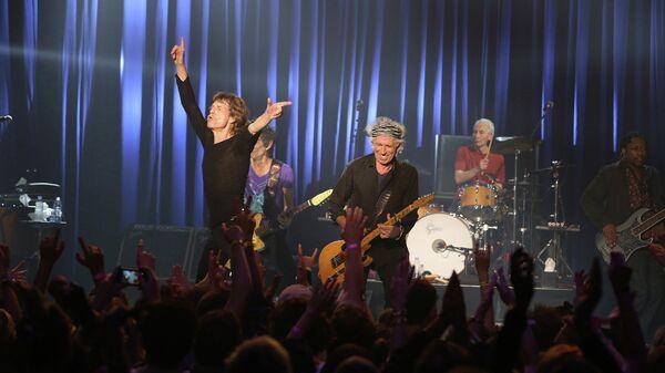 Cекретный концерт Rolling Stones в Лос-Анджелесе, США