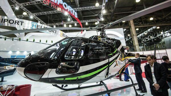 Вертолет BELL-407 GX на HeliRussia 2015