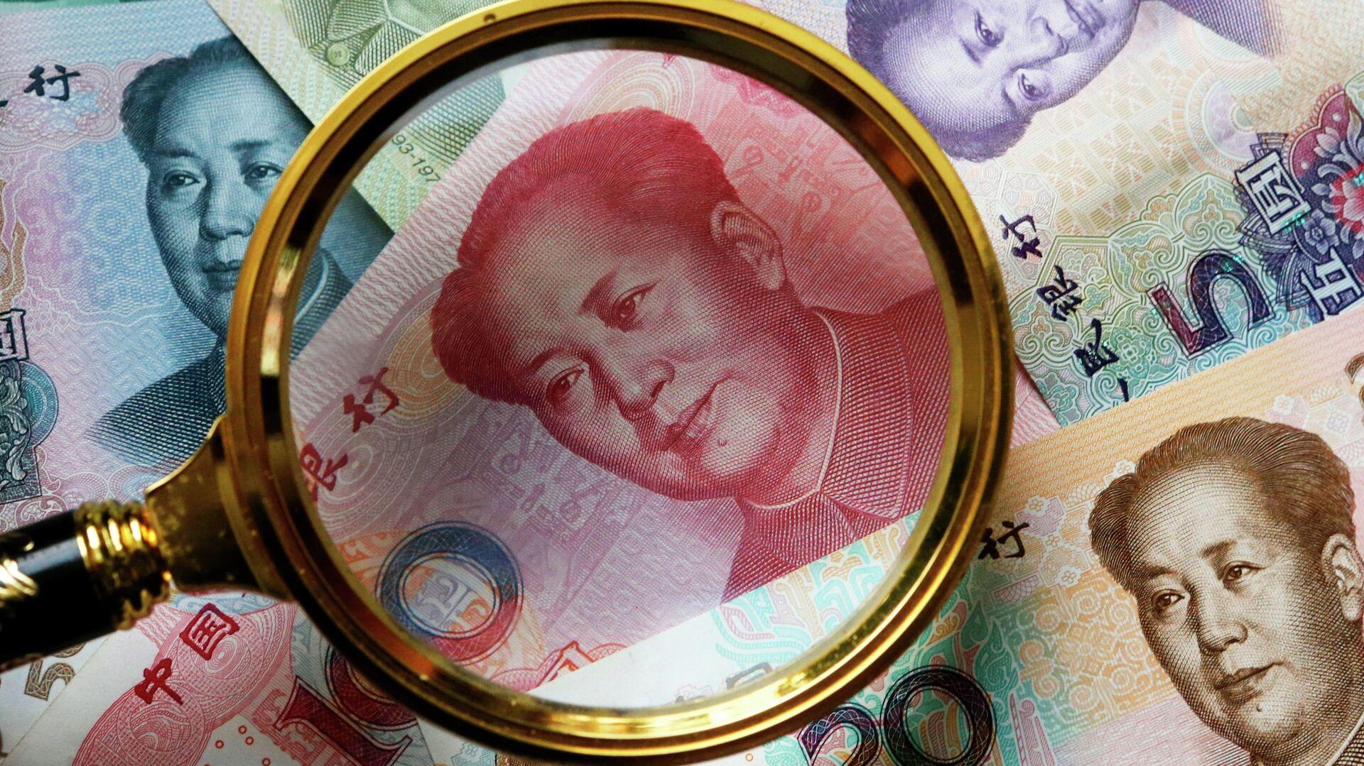 Китайские банкноты - РИА Новости, 1920, 22.02.2019