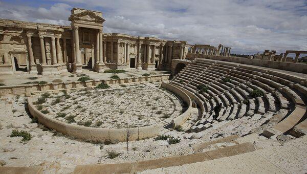 Театр в древнем оазисе города Пальмира. Архивное фото
