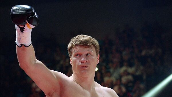 Российский боксер Александр Поветкин. Архивное фото