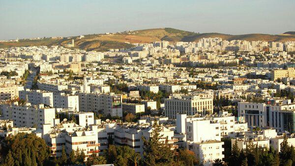 Вид города Тунис