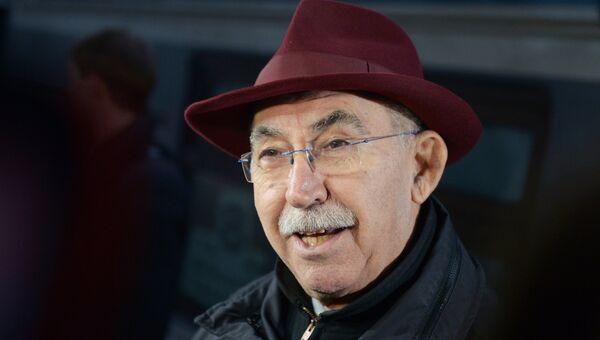 Итальянский журналист и общественный деятель, бывший депутат Европарламента Джульетто Кьеза. Архивное фото
