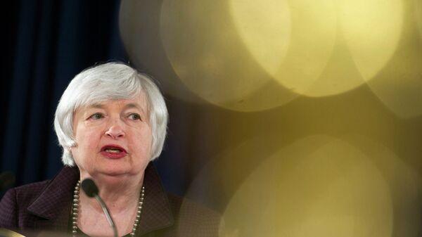 Глава Федеральной резервной системы США Джанет Йеллен. Архивное фото