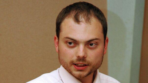 Журналист Владимир Кара-Мурза. Архивное фото
