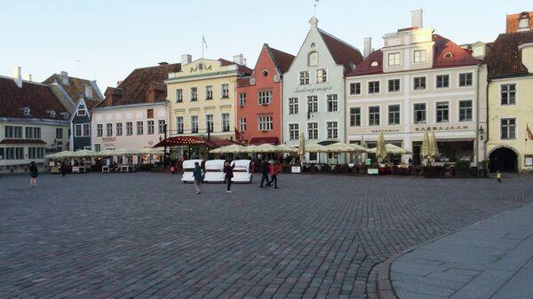 Города мира. Таллин. Эстония. Архивное фото