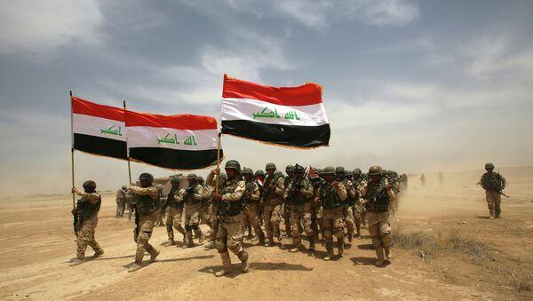 Иракские солдаты. Архивное фото