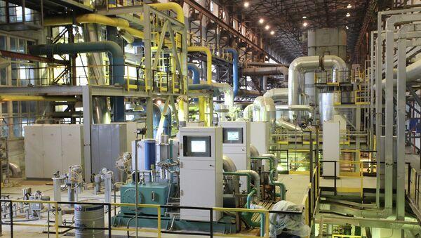Завод по производству удобрений ЧАО Северодонецкое объединение Азот Архивное фото