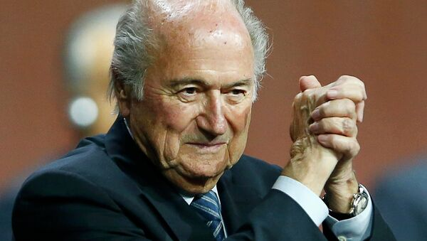 Президент ФИФА Блаттер переизбран на пятый срок