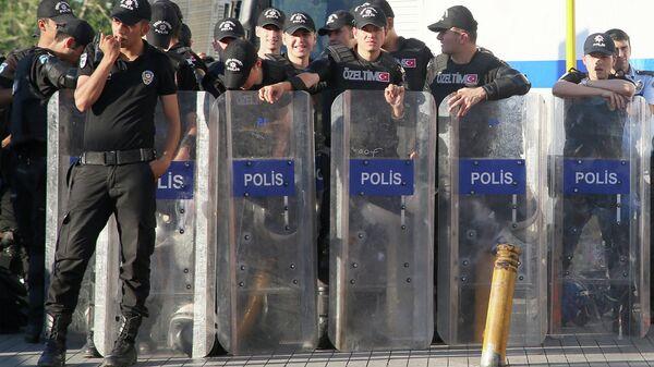 Полиция Турции, архивное фото