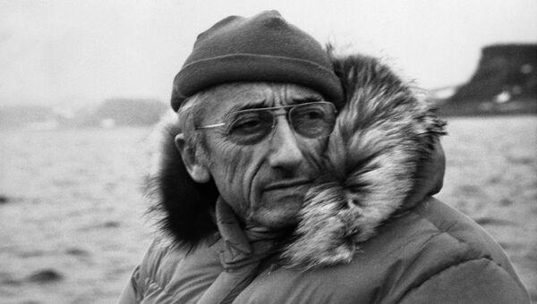 Французский океанограф Жак-Ив Кусто. Архивное фото