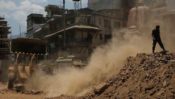Ситуация в Непале после землетрясений. Архивное фото