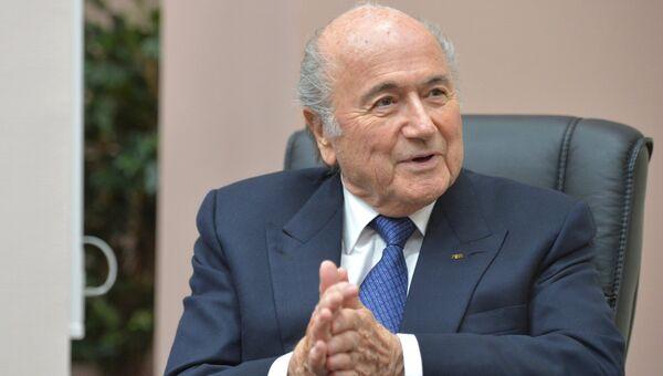 Президент ФИФА Йозеф Блаттер. Архивное фото