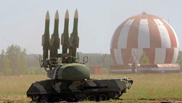 Зенитный ракетный комплекс Бук-М2. Архивное фото