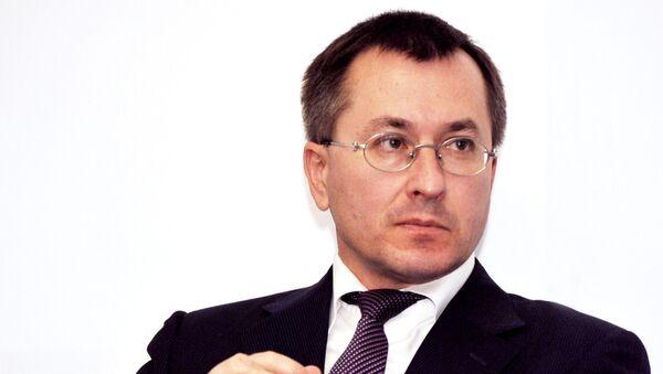 Президент СПбМТСБ Алексей Рыбников. Архивное фото