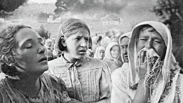 23 июня 1941 года в Киеве. Район Грушки