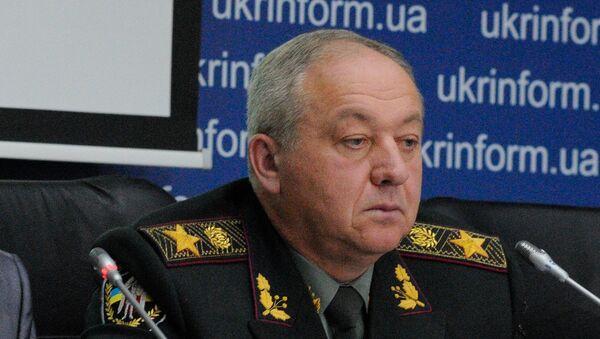 Генерал армии, командующий внутренних войск МВД Украины в 2005-2010 годах Александр Кихтенко. Архивное фотолександр Кихтенко