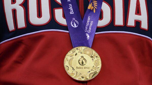 Золотая медаль I Европейских игр в Баку. Архивное фото