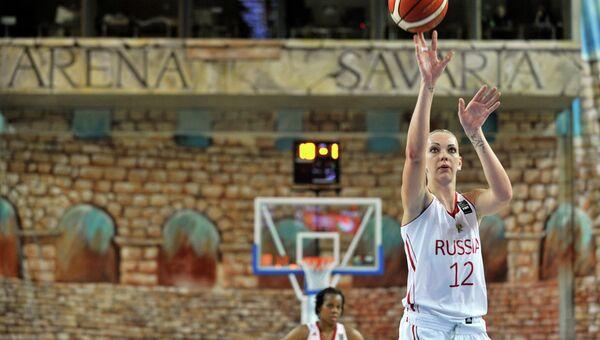 Игрок сборной России Ирина Осипова. Архивное фото