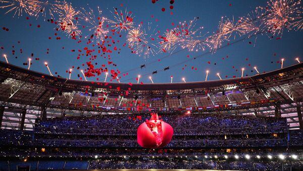 Церемония открытия I Европейских игр