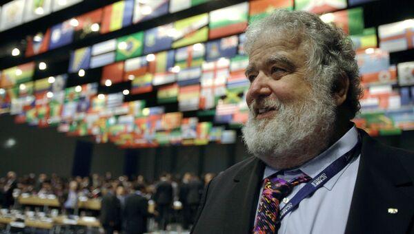 Бывший член исполкома Международной федерации футбола (ФИФА) Чак Блейзер. Архивное фото