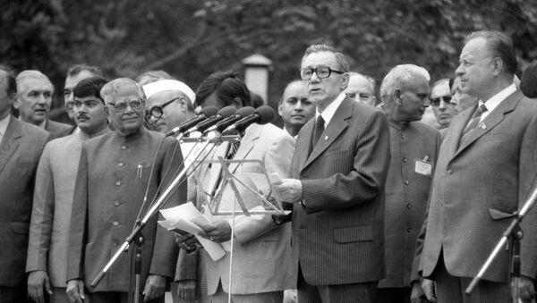 Рамасвами Венкатараман - Индия и Андрей Андреевич Громыко - СССР