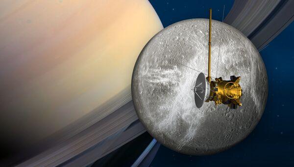 Исследовательский космический аппарат НАСА Кассини