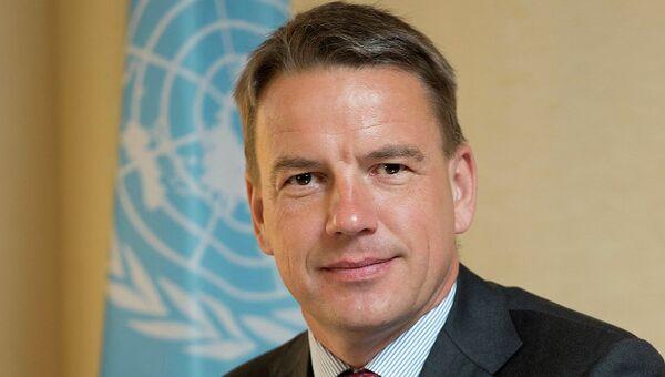 Исполнительный секретарь Европейской экономической комиссии (ЕЭК) ООН Кристиан Фриис Бах. Архивное фото