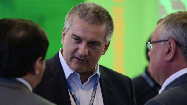 Председатель совета министров Республики Крым Сергей Аксенов. Архивное фото