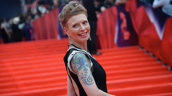 Актриса Амалия Мордвинова на церемонии открытия 37-го Московского международного кинофестиваля