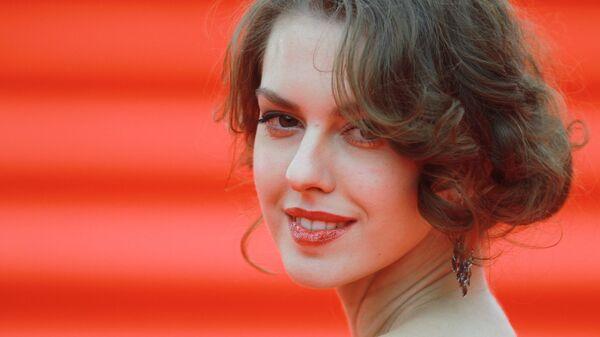 Актриса Лянка Грыу на церемонии открытия 37-го Московского международного кинофестиваля