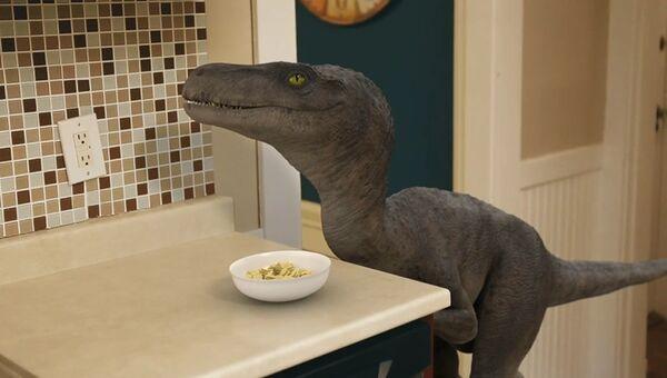 Завтрак с динозавром